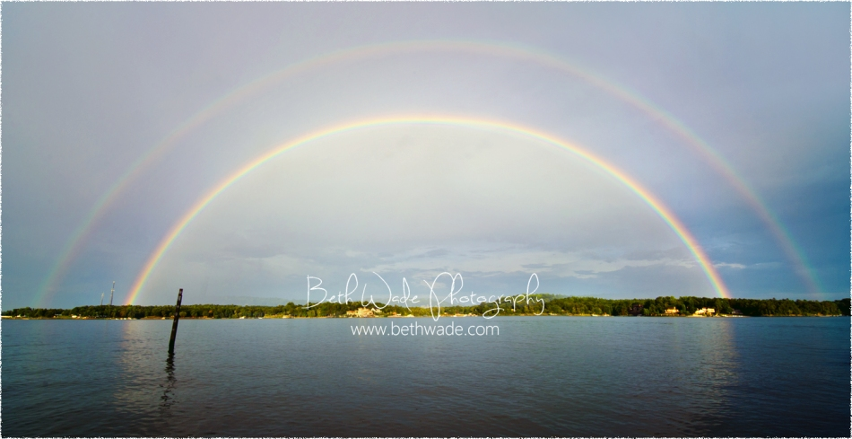 full double rainbow photo