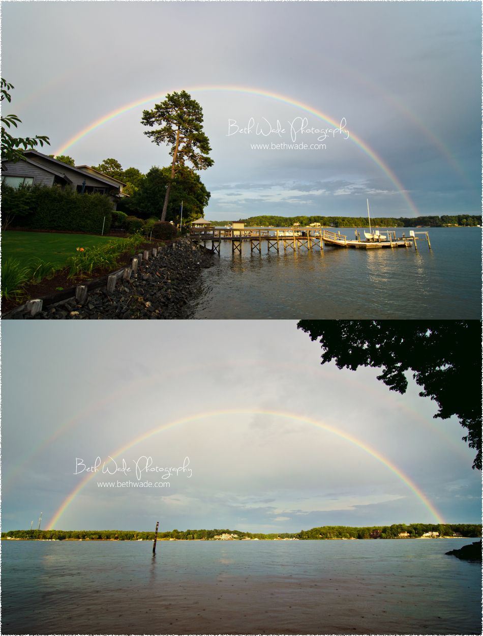 full double rainbow photo
